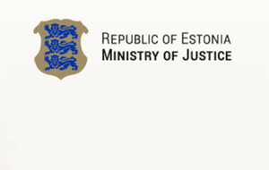 Фрагмент скриншота сайта Смнистерства юстиции Эстонии.